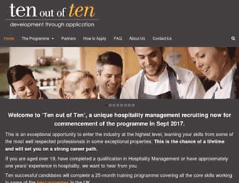 ten-outof-ten.co.uk screenshot