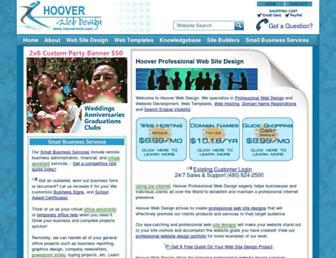 hooverwebdesign.com screenshot
