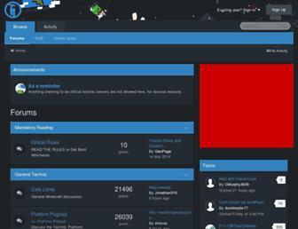 forums.technicpack.net screenshot