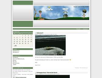 Main page screenshot of blog.sven-borkenhagen.info