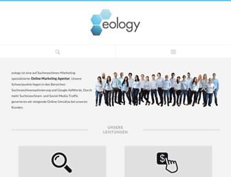 eology.de screenshot