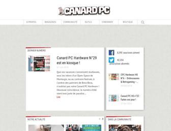 Thumbshot of Canardpc.com