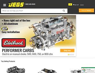jegs.com screenshot