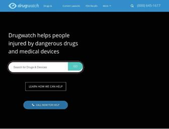 drugwatch.com screenshot
