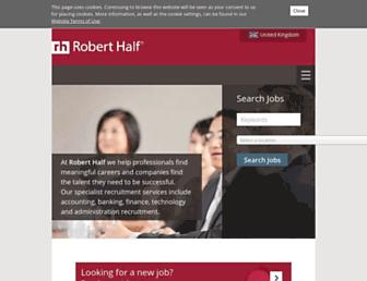 roberthalf.co.uk screenshot