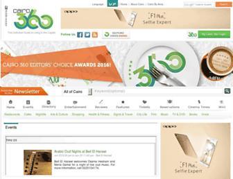 Thumbshot of Cairo360.com