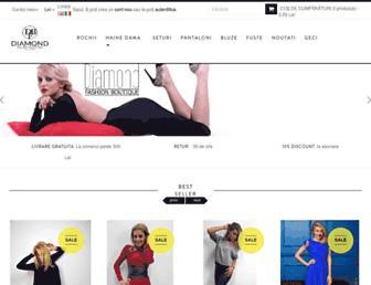 d-fashion.ro screenshot