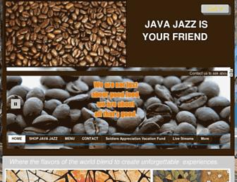 Main page screenshot of javajazz.net