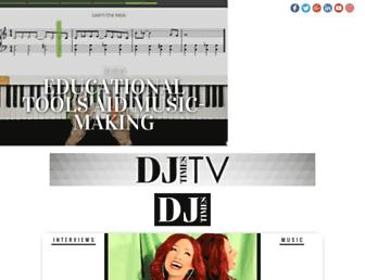 djtimes.com screenshot