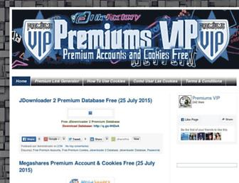 premiumsvip.blogspot.com screenshot