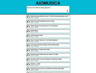 aiomusica.com screenshot