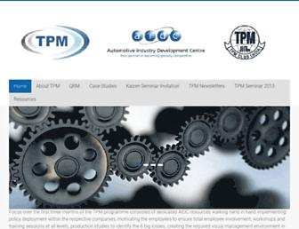 tpmclubsa.co.za screenshot