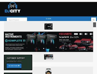 djcity.com.au screenshot