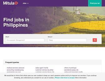 hiring.mitula.ph screenshot
