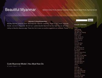 beautiful-myanmar.blogspot.com screenshot