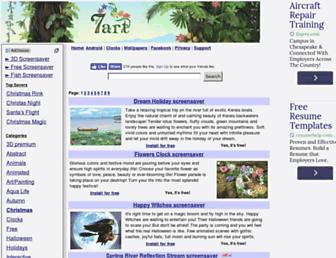 7art-screensavers.com screenshot