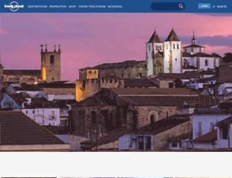 lonelyplanet.com screenshot