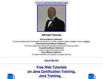 michael-thomas.com screenshot