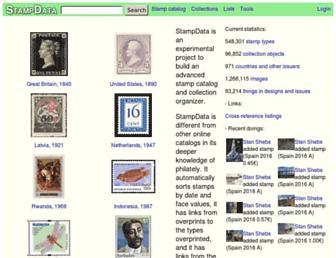 stampdata.com screenshot
