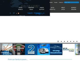 jayco.com screenshot