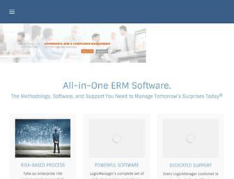 logicmanager.com screenshot