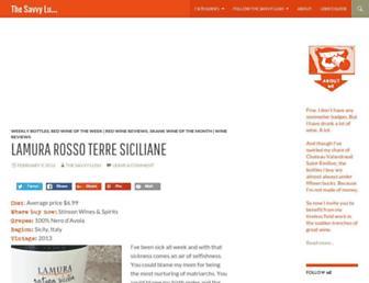 thesavvylush.com screenshot