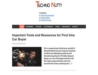 technonutty.com screenshot