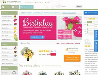 serenataflowers.com screenshot