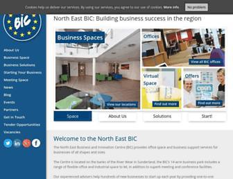 ne-bic.co.uk screenshot