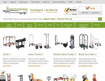 Thumbshot of Handtrucks2go.com