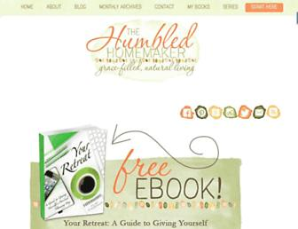 Thumbshot of Thehumbledhomemaker.com