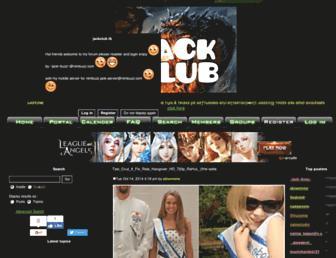 jack-club.forumsmotion.com screenshot