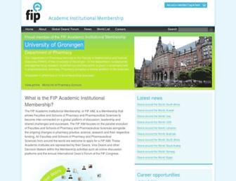aim.fip.org screenshot