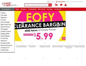 Thumbshot of Crazysales.com.au
