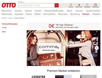 Main page screenshot of brandneu.de