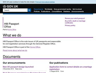Thumbshot of Ips.gov.uk