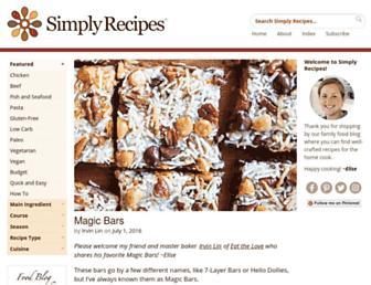 Thumbshot of Simplyrecipes.com
