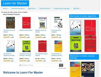 learn4master.com screenshot
