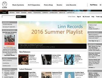 Thumbshot of Linnrecords.com
