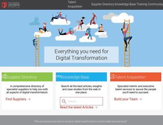 thedigitaltransformationpeople.com screenshot
