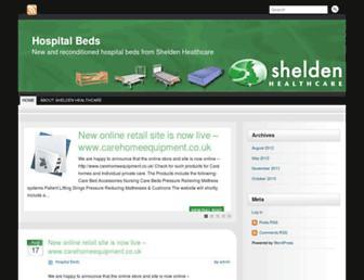 hospital-bed.co.uk screenshot
