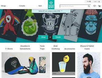 Thumbshot of Spreadshirt.co.uk
