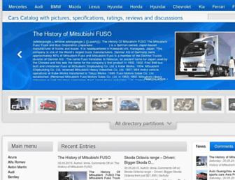 cars-catalog.info screenshot