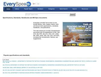 everyspec.com screenshot