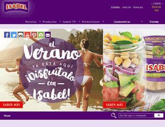 isabel.net screenshot