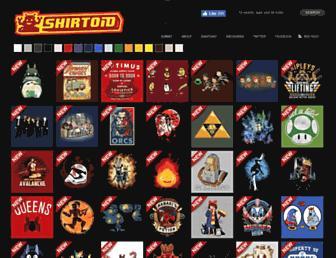 Thumbshot of Shirtoid.com