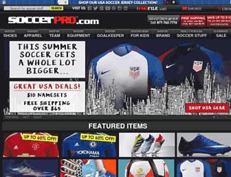 soccerpro.com screenshot