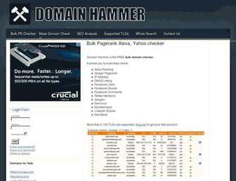 Thumbshot of Domainhammer.com