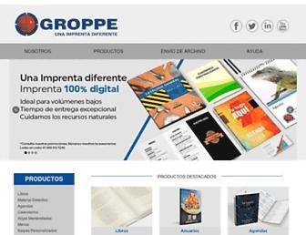 groppeimprenta.com screenshot