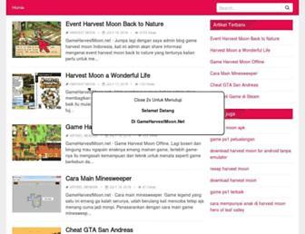 gameharvestmoon.net screenshot